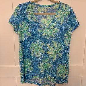 LILLY PULITZER ETTA TEE in Tropic Like It's Hot!!